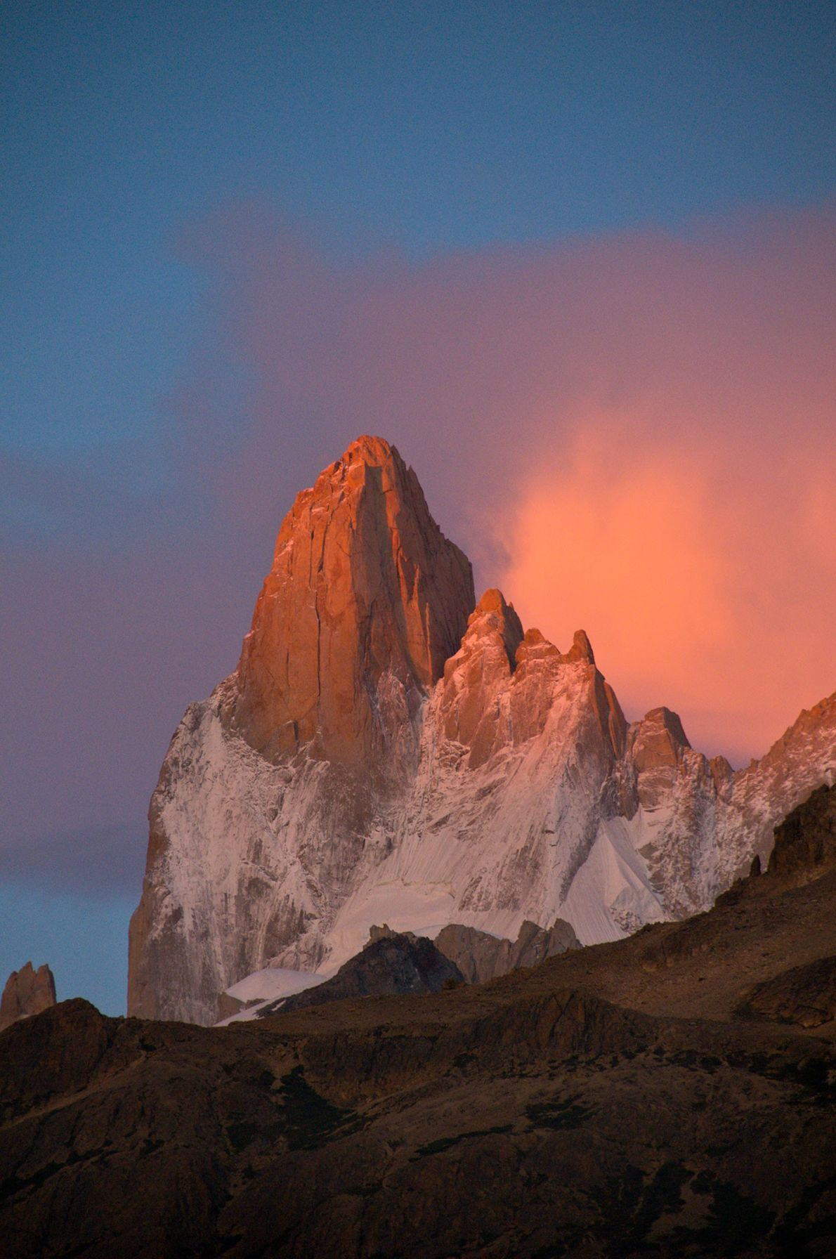 Mount Fitz Roy, Argentina and Chile