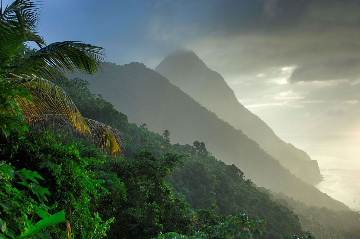 The Pitons, Caribbean