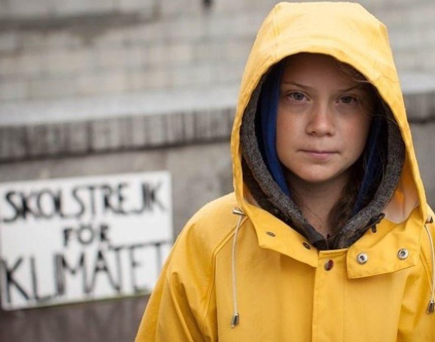 Fotografía de la activista sueca Greta Thunberg tomada de su cuenta oficial de Instagram.