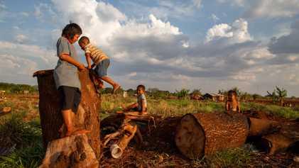 En Brasil, los indígenas luchan para que no se lleven a sus hijos