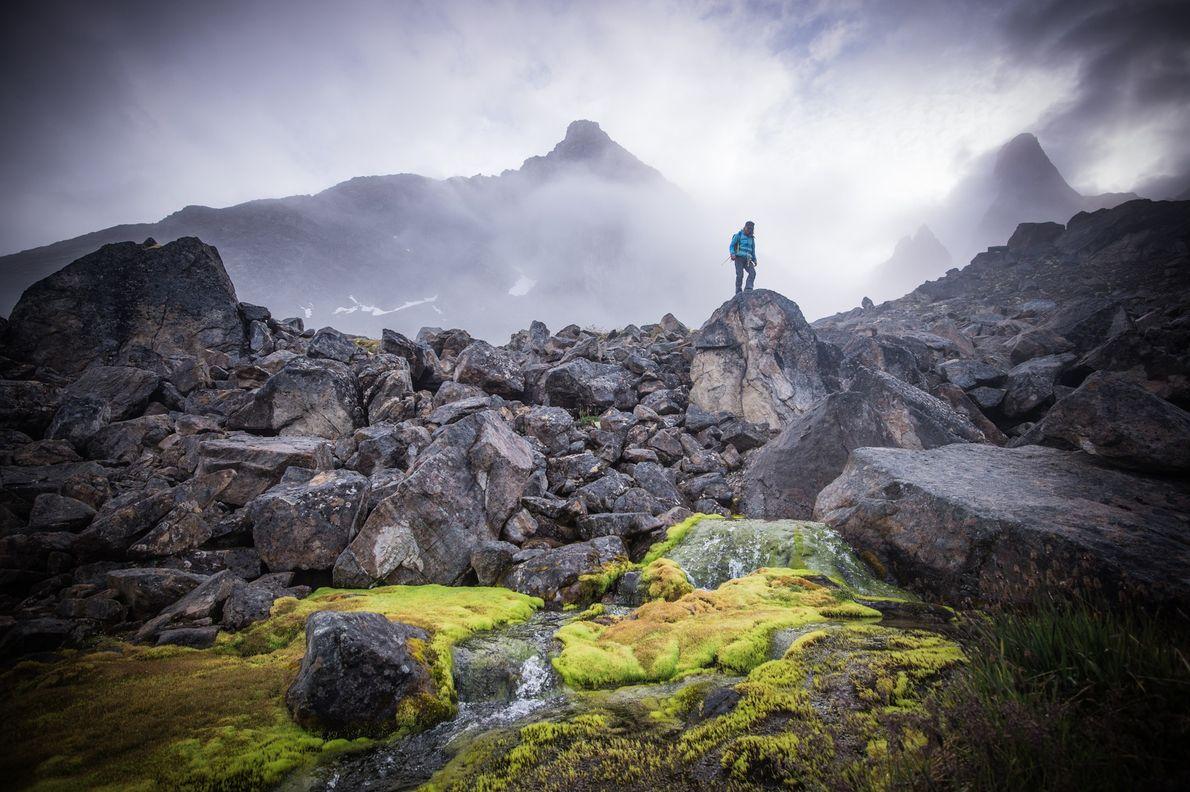Ninguna de las tierras de Groenlandia es privada, lo que permite a los exploradores osados forjar ...