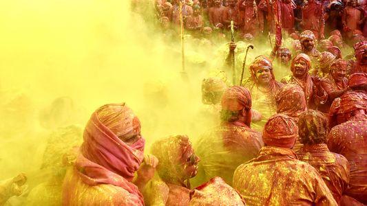 Holi, el festival más colorido de la India