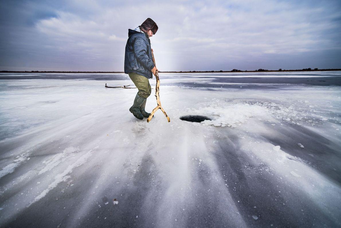 Frozen Lake Gorgova