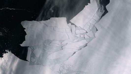 Un iceberg gigante se desprendió del glaciar más vulnerable de la Antártida Occidental