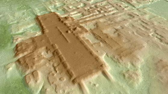 """México: enorme complejo ceremonial de 3.000 años de antigüedad es descubierto a """"simple vista"""""""
