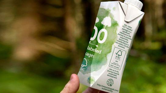 Los envases de papel producto de los bosques gestionados responsablemente han reducido su impacto en el ...