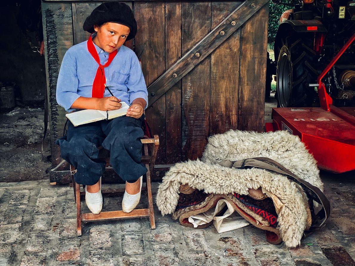 Brother David viajó a La Pampapara terminar uno de sus escritos acerca de espiritualidad. Es monje ...