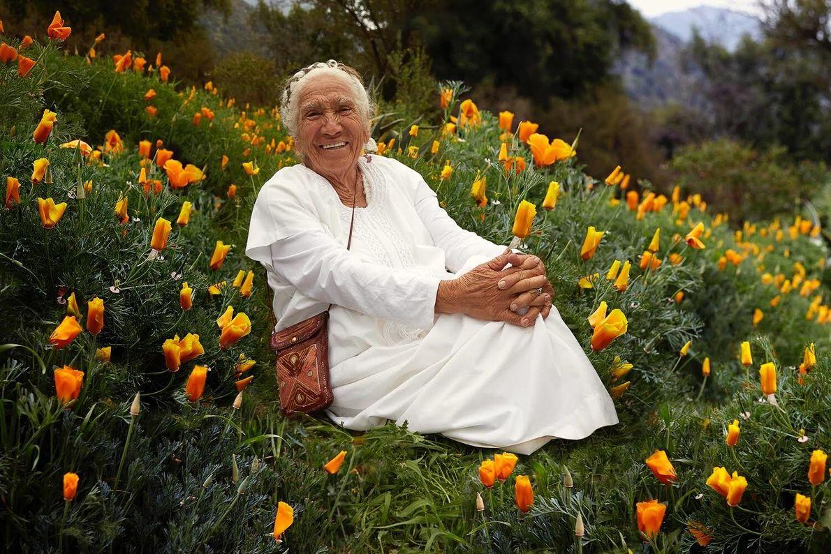 """Abuela Margarita, líder espiritual maya de 86 años. """"Cuando quiero algo me lo pido a mi ..."""