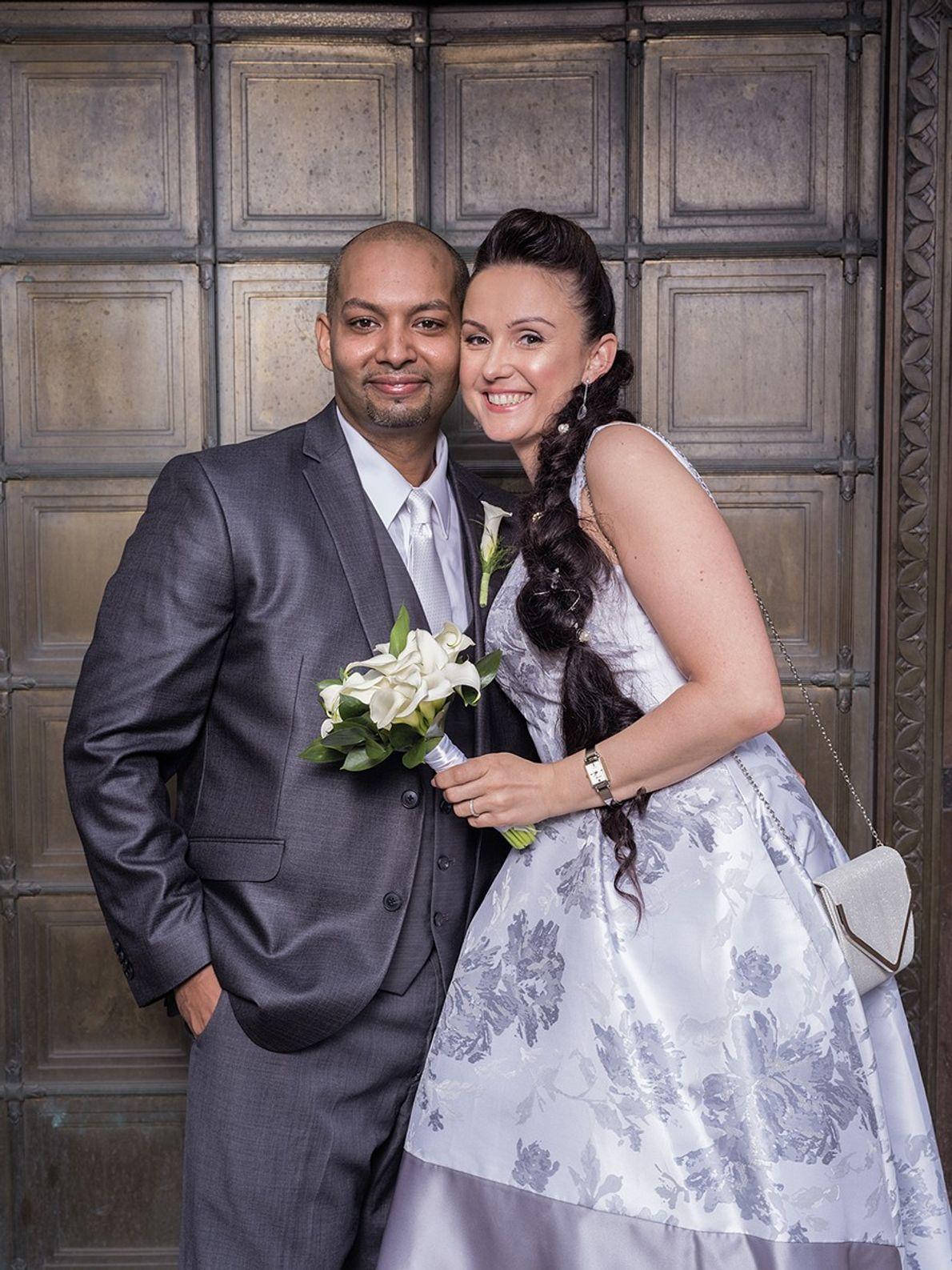 """Robert y Marta Muniz han sido """"inseparables"""" desde 2010, dicen. Las raíces familiares de él están ..."""