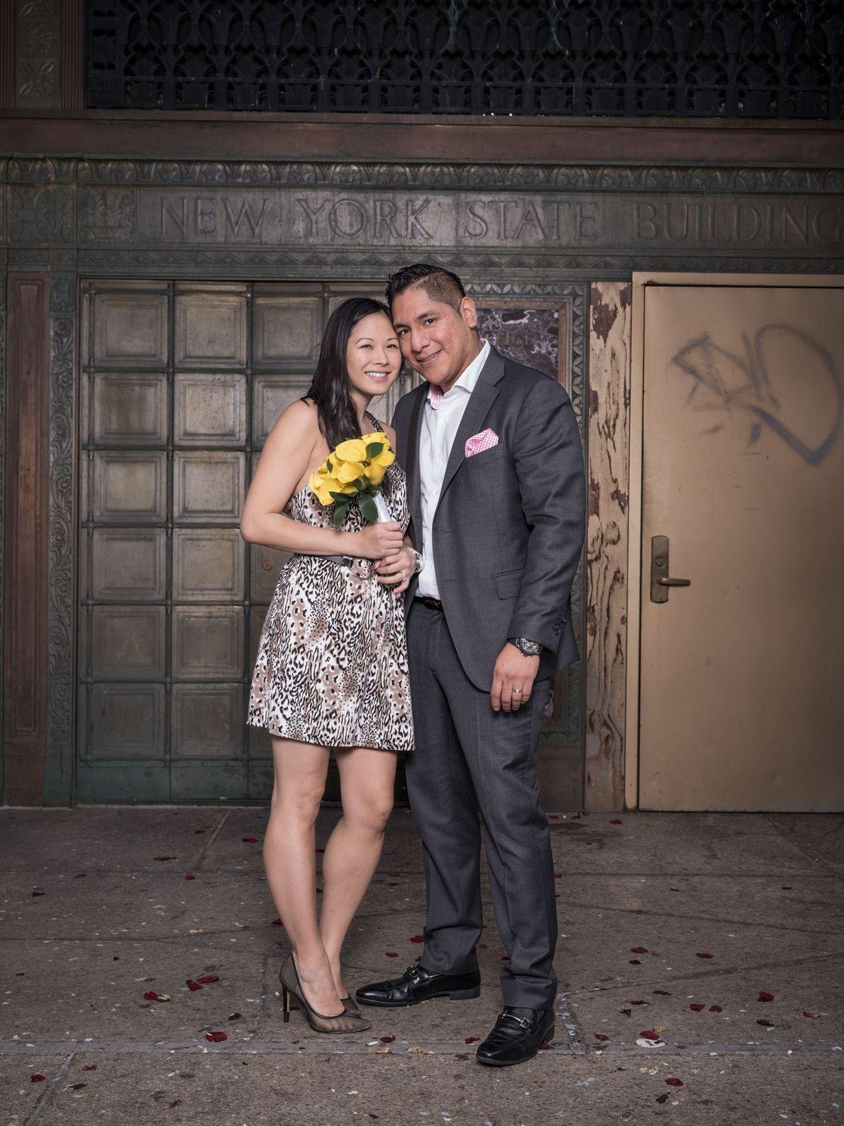 Cindy y Daniel Pérez Junior crearon una familia de siete: dos niños cada uno de matrimonios ...