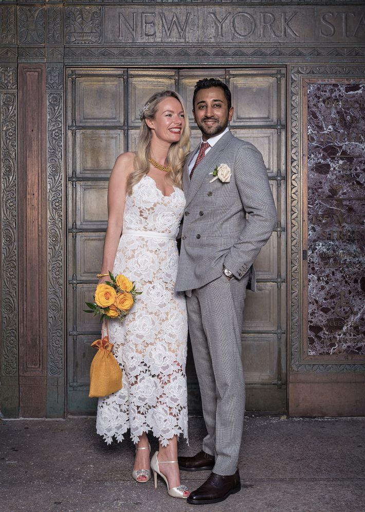 Stephanie Mansfield y Shiva Nahappan, residentes de la ciudad de Nueva York, han estado juntos por ...