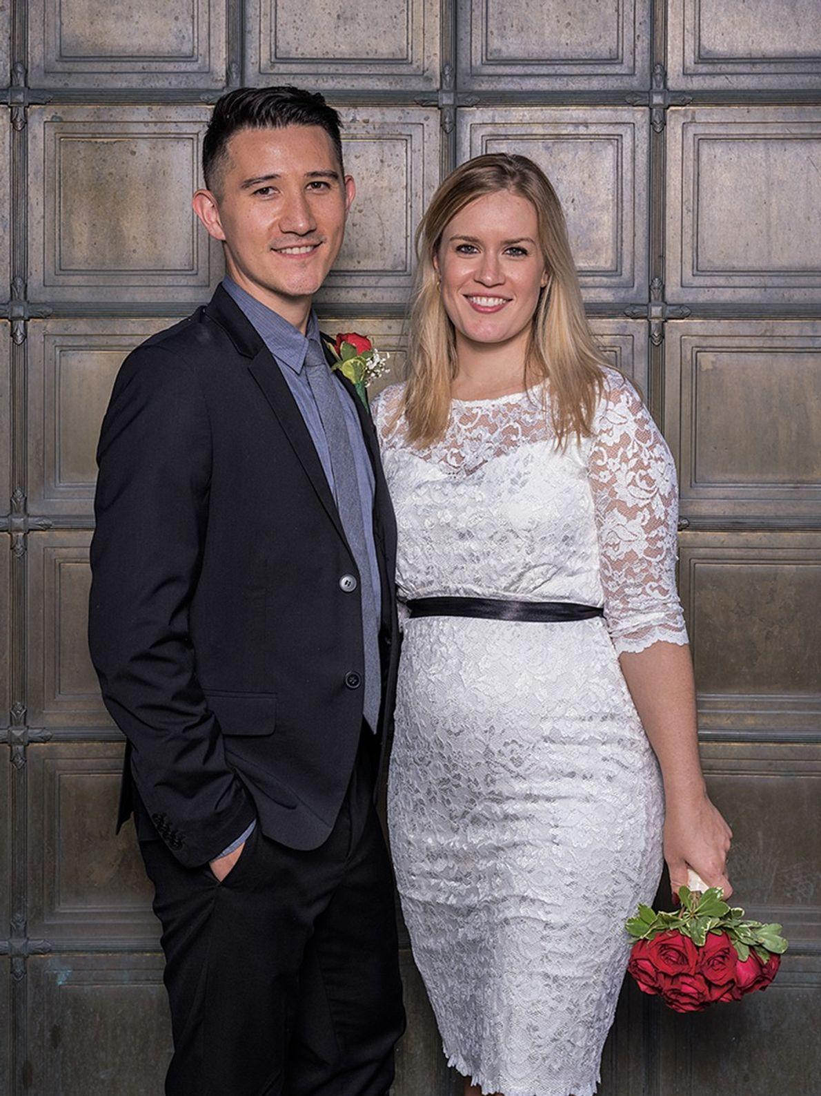 Ed y Christina Victori se convirtieron en pareja en 2014. Él tiene raíces provenientes de Korea, ...