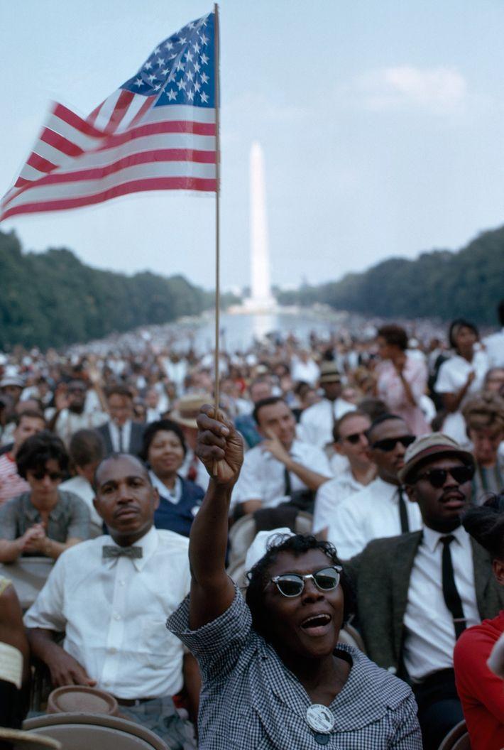 La Marcha en Washington por el Empleo y la Libertad duró todo el día, hasta que ...