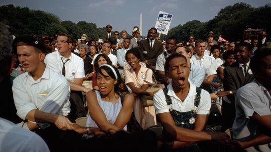 La Marcha en Washington por el Empleo y la Libertad de 1963 reunió a las personas ...