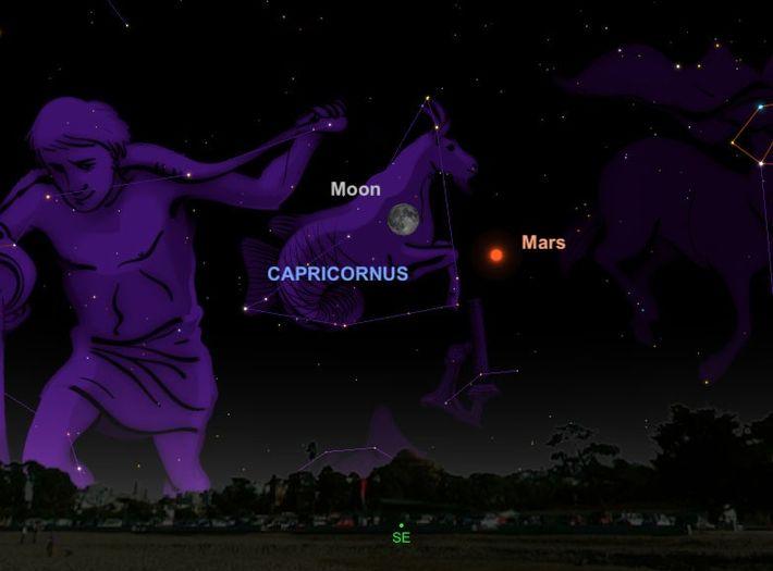 Un brillante Marte estará en su mejor momento desde 2003 el 27 de julio, cerca de ...
