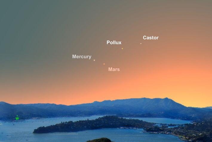 El 23 de junio será el día que más fácilmente se podrá ver a Mercurio.