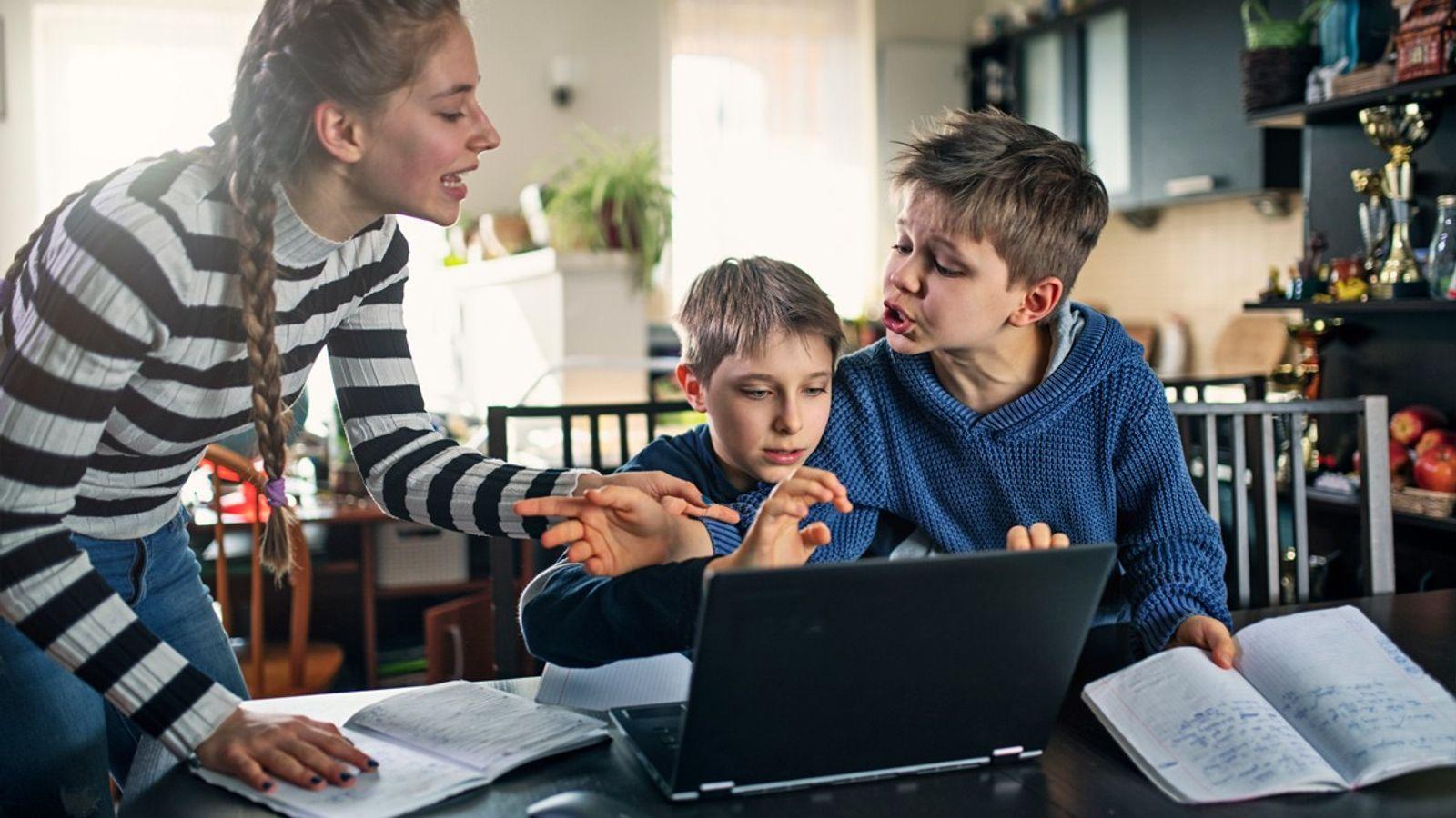 A raíz de la pandemia, muchos chicos alrededor del mundo, reciben sus clases en casa.