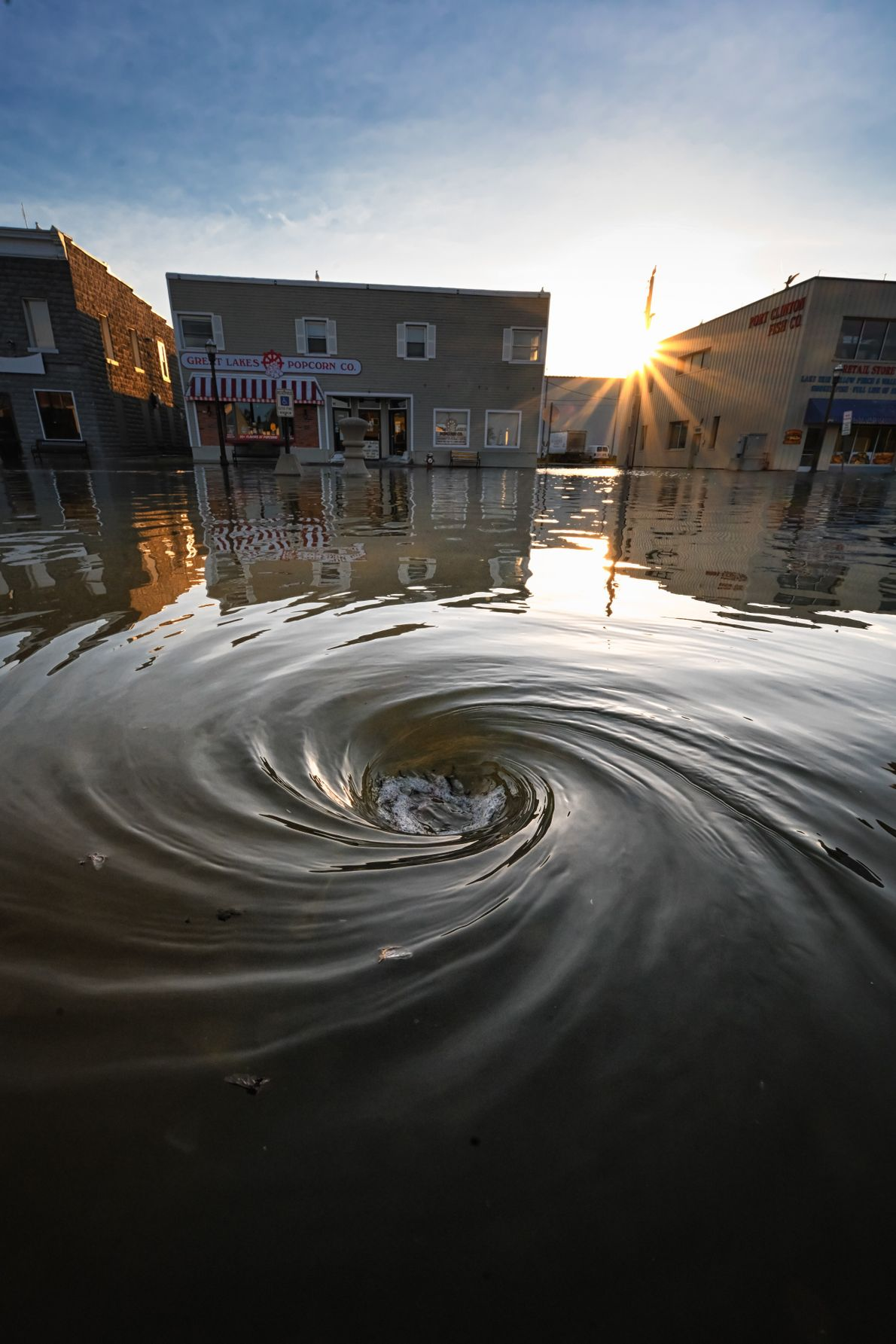Inundaciones en Ohio