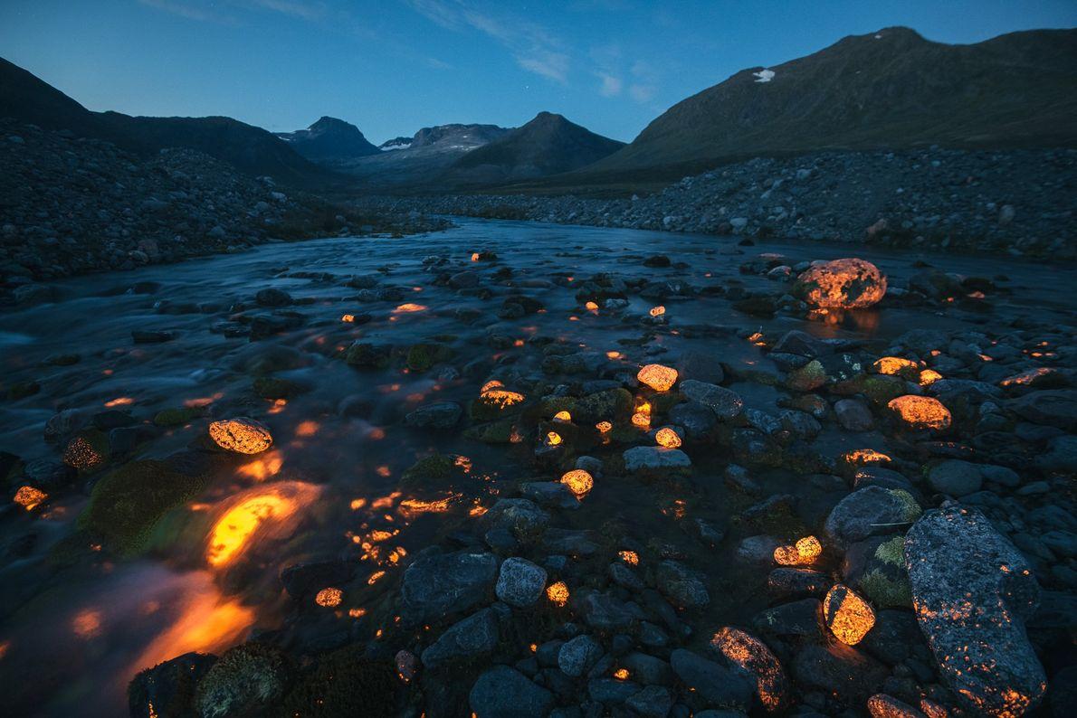 Rocas incandescentes