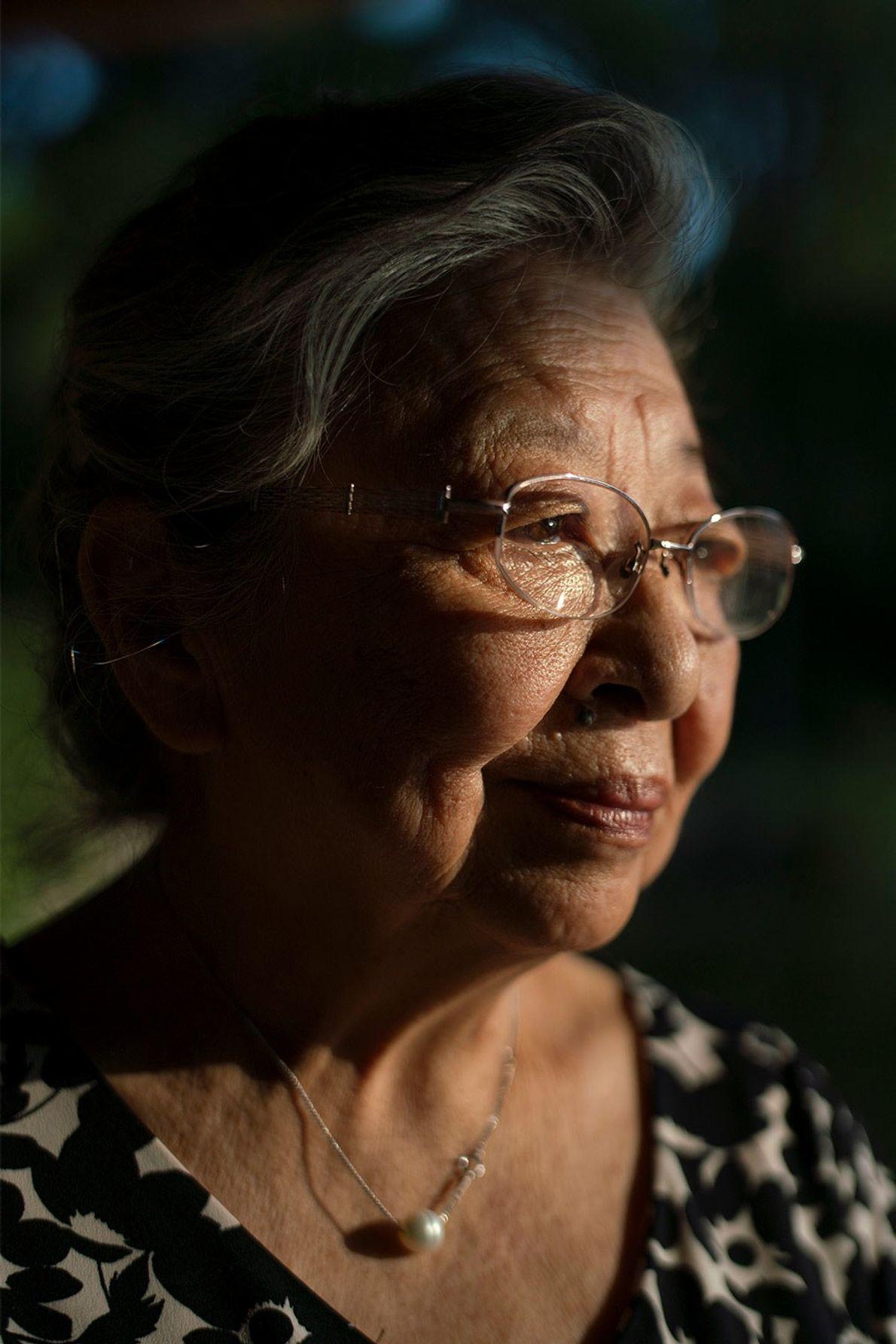 Koko Tanimoto Kondo tenía ocho meses cuando estalló la bomba a menos de 2 km de ...