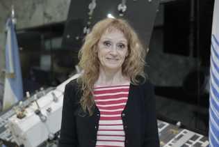 Dra. Laura Frulla, investigadora principal de la Misión SAOCOM.