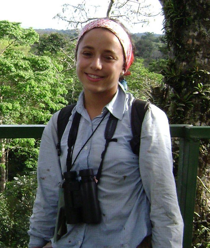 Lina Valencia es una investigadora y conservacionista colombiana, exploradora de National Geographic.