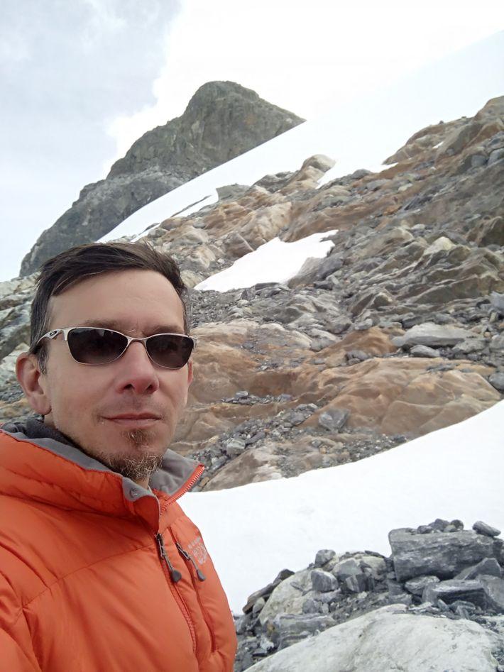 Luis Daniel Llambí, ecólogo vegetal e investigador venezolano. Explorador de National Geographic.