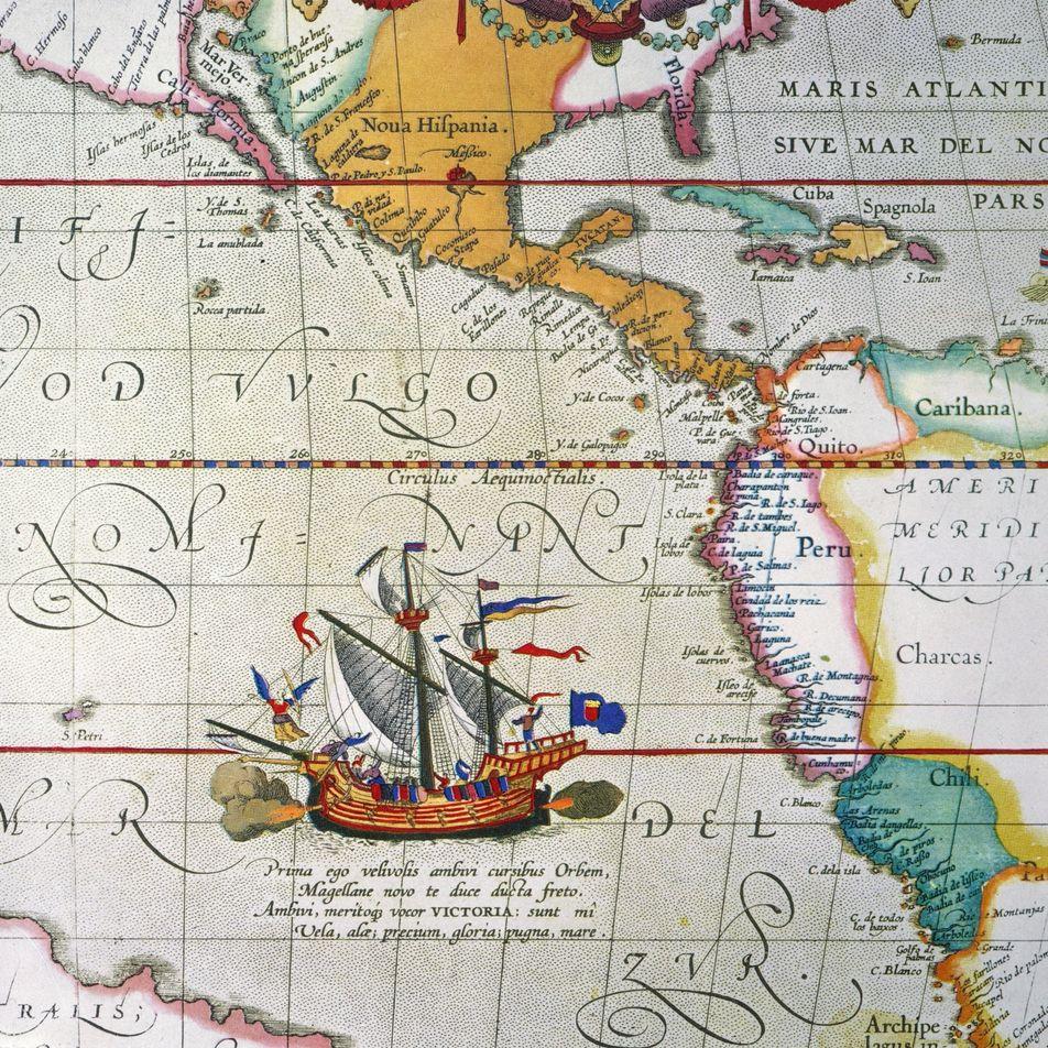 ¿Magallanes fue el primero en navegar alrededor del mundo?