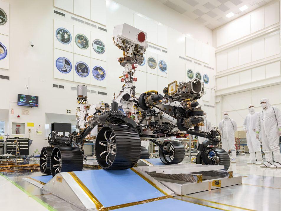 El nuevo rover de la NASA con destino a Marte comienza la búsqueda de vida extraterrestre