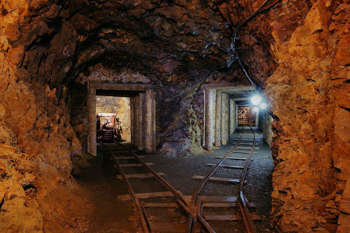 Erzgebirge/Krušnohoří Mining Region, Germany and Czech Republic