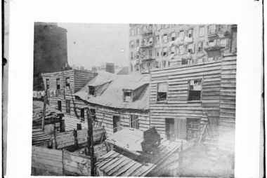 Old picture taken for the Board of Health in 1872