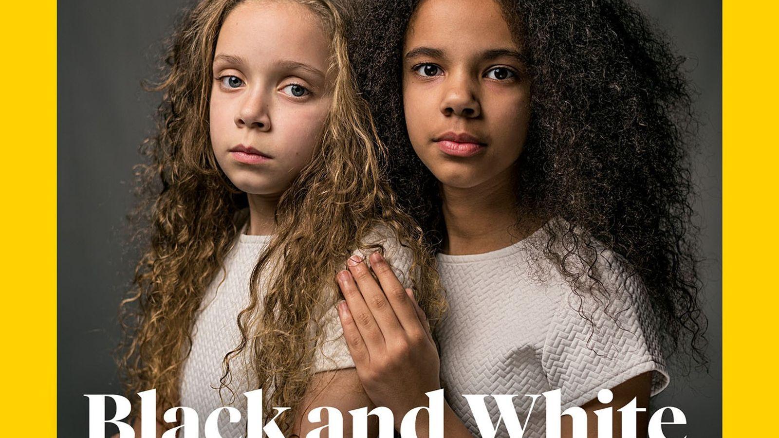 Marcia (a la izquierda) y Millie Biggs, tienen 11 años y dicen que la gente se ...