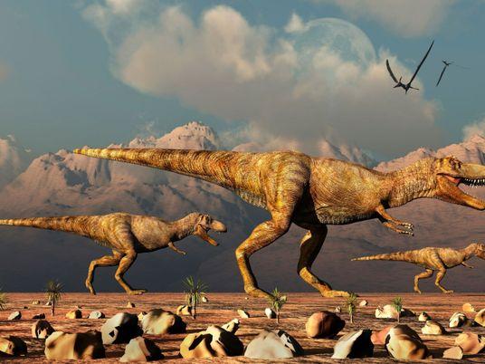 Paleontólogos revelan que hubo miles de millones de T. rex recorriendo el mundo