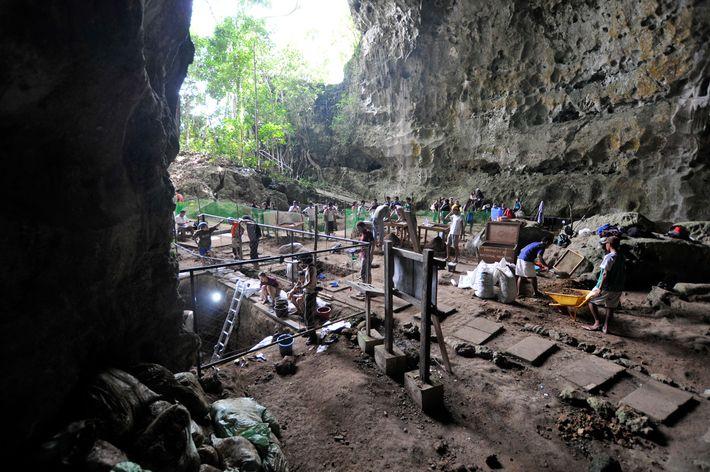 La cueva de Callao se encuentra en el extremo norte de Luzón, una isla que no ...