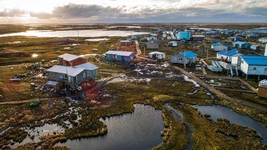 El cambio climático ha afectado a este pueblo de Alaska