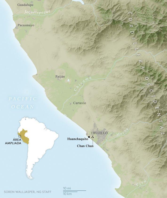 Los asentamientos humanos a lo largo de la costa norte de Perú son susceptibles a las ...