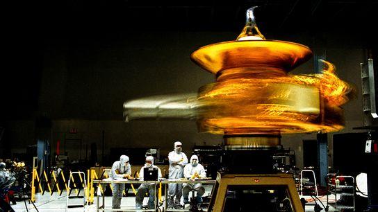 Los  técnicos  observan  las  piruetas  de  New Horizons  como ...