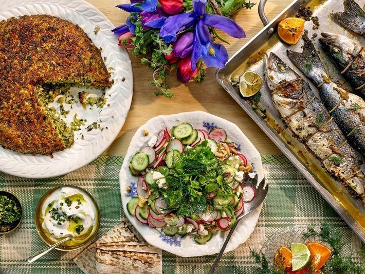 La comida tradicional persa protagoniza las celebraciones del Nouruz. Entre los platos figuran el tahdig (arroz ...
