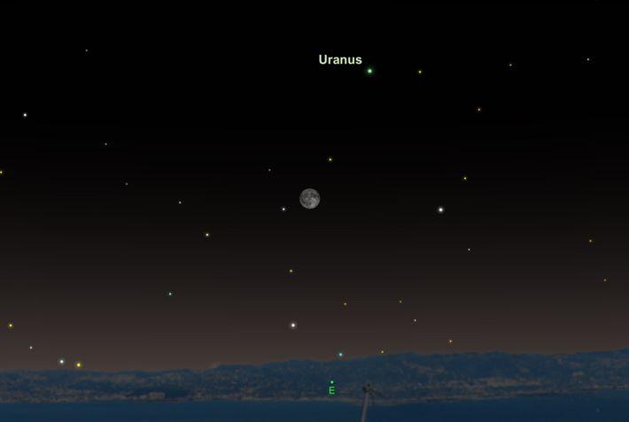 Urano se encontrará en su momento más grande y brillante de 2018 el 24 de octubre.