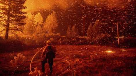 El cambio climático contribuye a los incendios de California