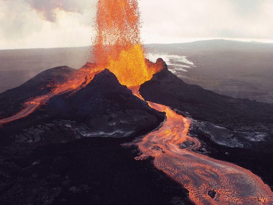 ¿Puede un terremoto provocar una erupción volcánica?