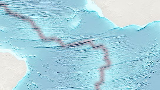 Los sensores del fondo del mar detectaron un terremoto intenso en la fosa Romanche, una falla ...