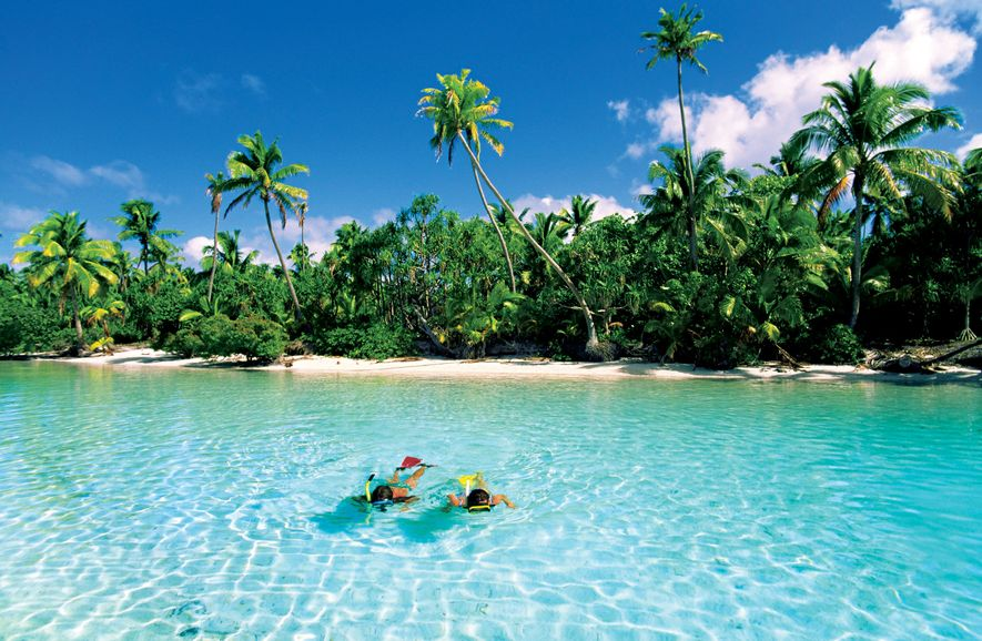 Isla de One Foot, Aitutaki, Islas Cook