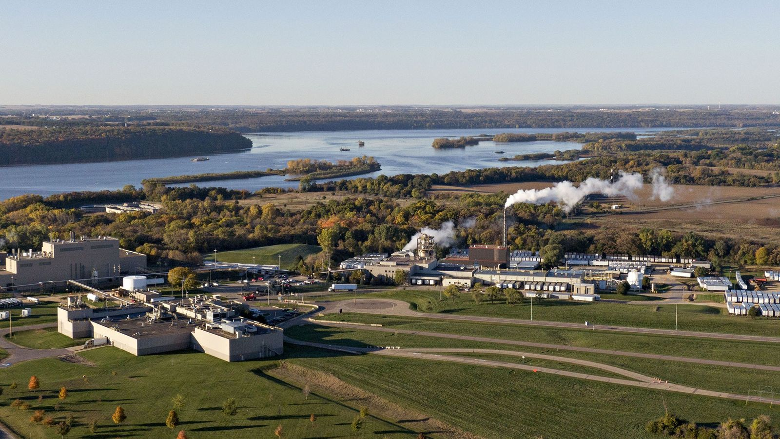 Cottage Grove, Minnesota, es el hogar de una fábrica que ha estado quemando sustancias perfluoroalquiladas y ...