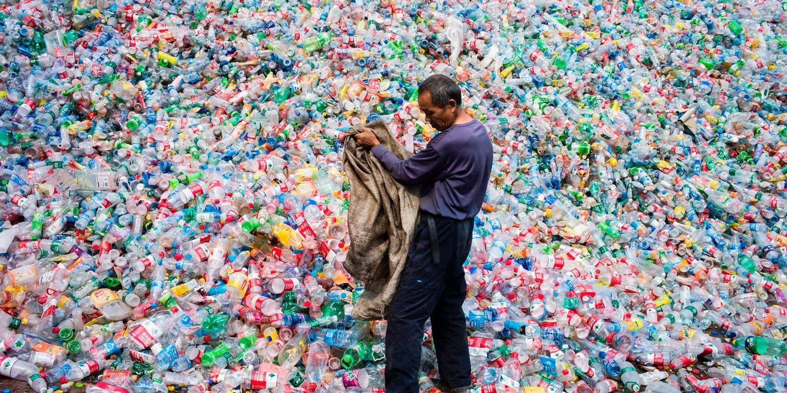El 91 por ciento del plástico que se fabrica no se recicla