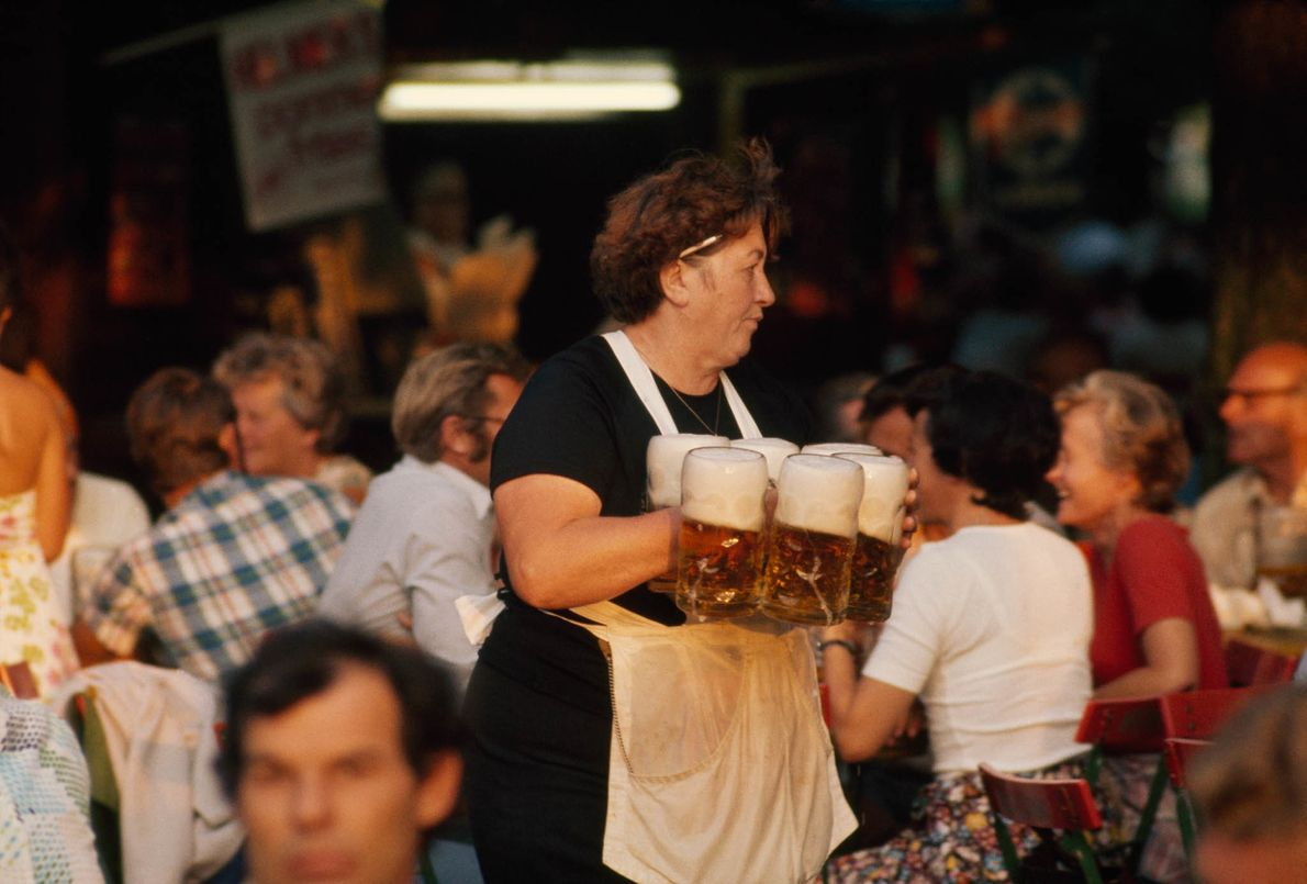 Celebrando el Oktoberfest