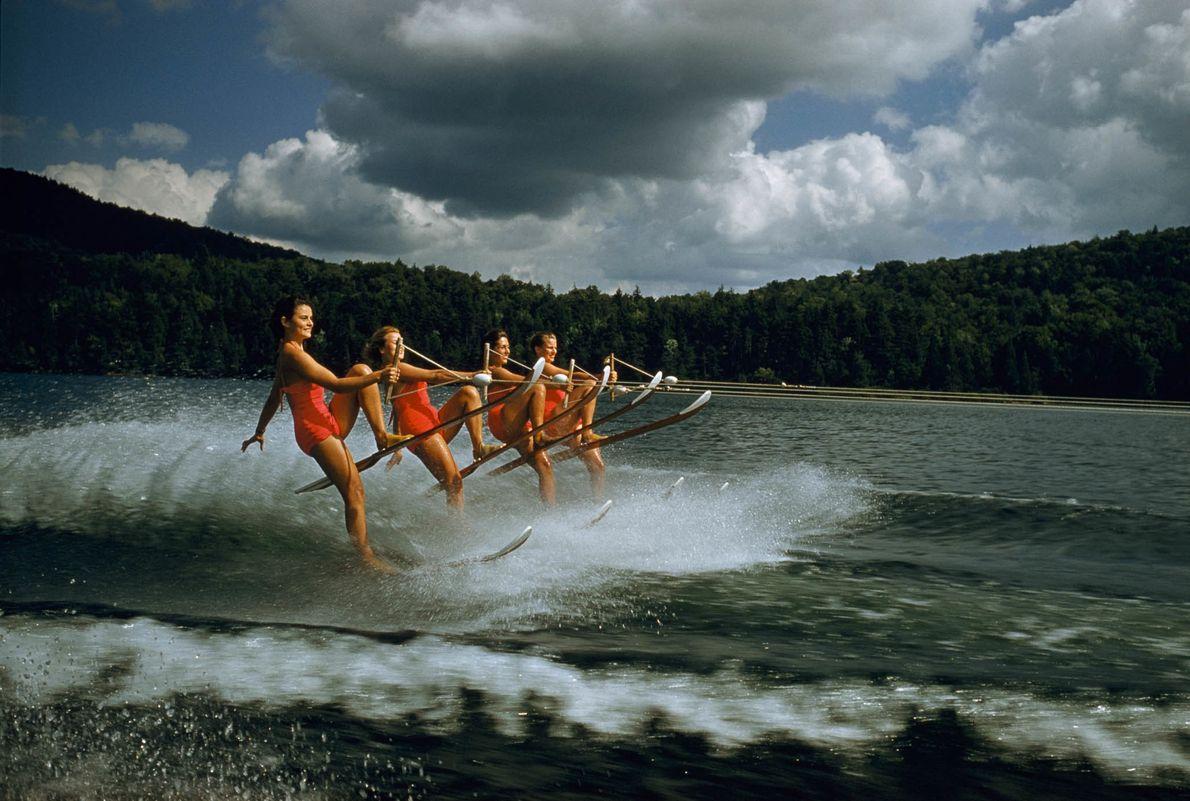 Esquí sincronizado