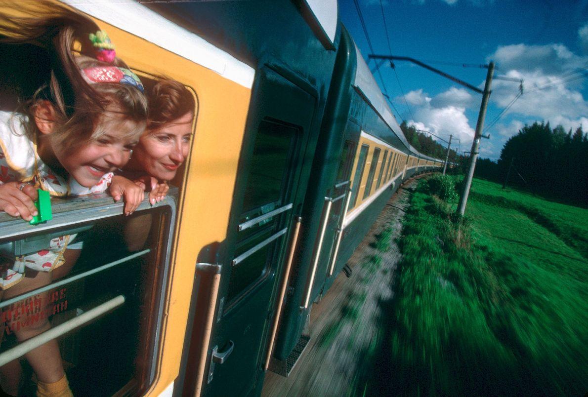 Viaje en tren