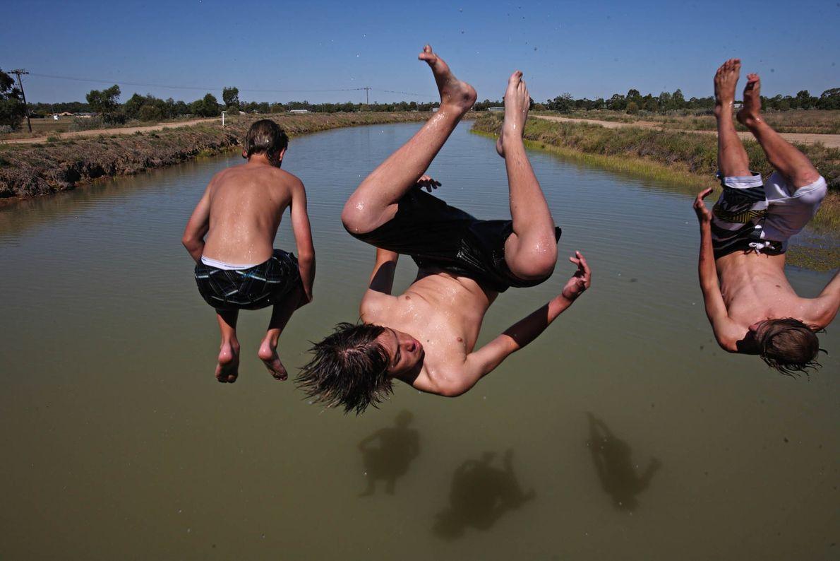 Saltos de verano
