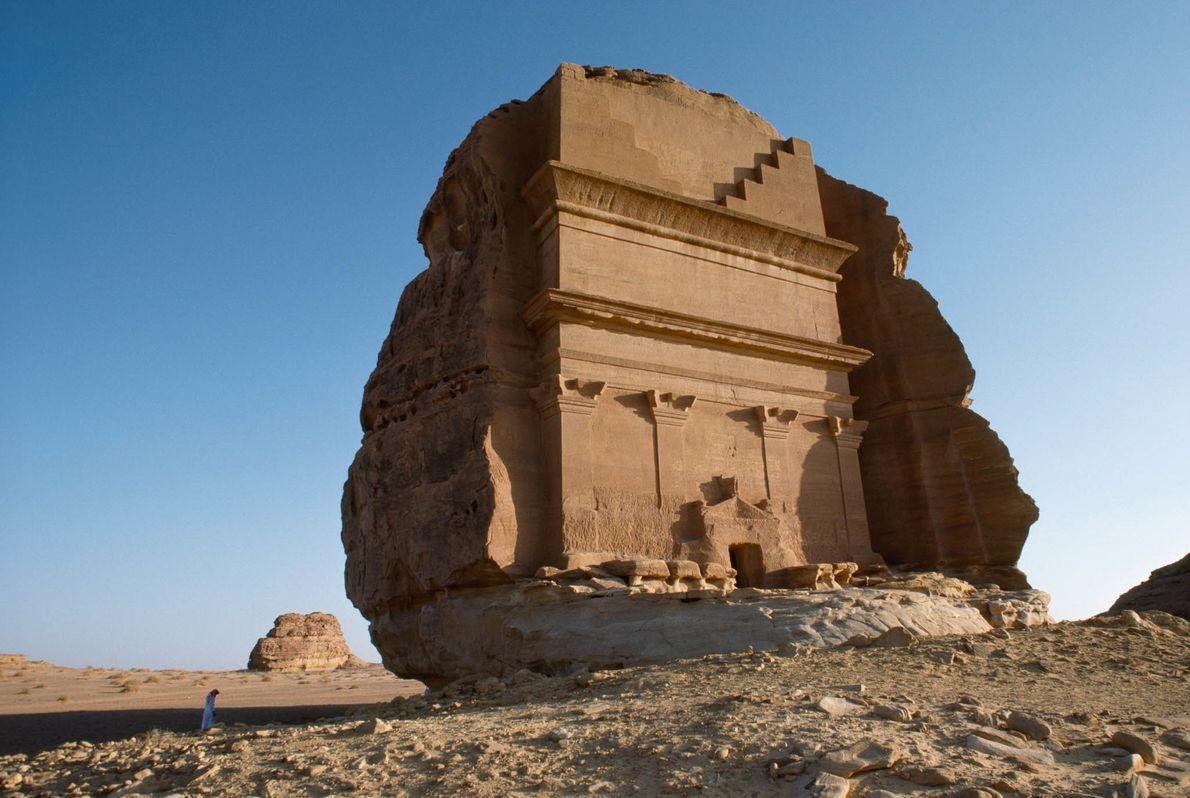 Tumba en el desierto
